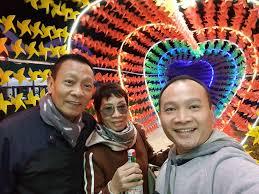 Hình ảnh gia đình của nhà báo Lại Văn Sâm